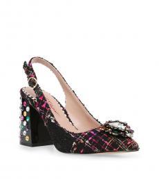 Betsey Johnson Black Tandy Heels