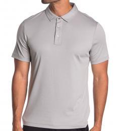 Michael Kors Grey Sleek Solid Polo