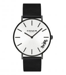 Coach Black Logo Watch