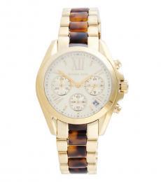 Michael Kors Golden Mini Bradshaw Watch