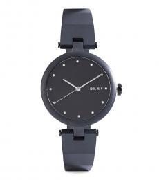 DKNY Black Logo Dial Watch