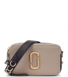 Marc Jacobs Grey The Softshot 21 Small Crossbody Bag
