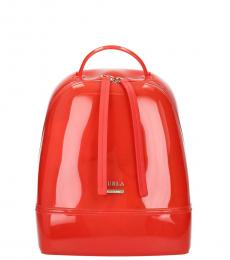 Furla Red Candy Small Backpack