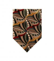 Multi Color Abstract Print Tie