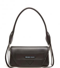 Black Manuelle Small Shoulder Bag