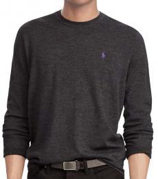 Granite Merino Wool Crewneck Sweater