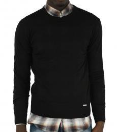 Dsquared2 Black Crew-Neck Sweater