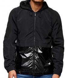 True Religion Black Panel Windbreaker