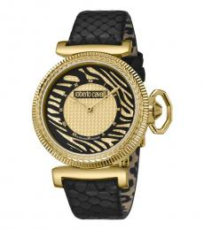 Roberto Cavalli Black Striking Watch