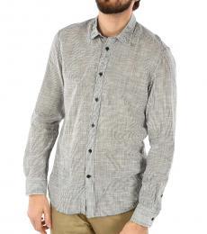Diesel Grey Striped Easter Shirt