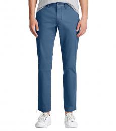 Ralph Lauren Channel Blue Slim Fit Stretch Chinos