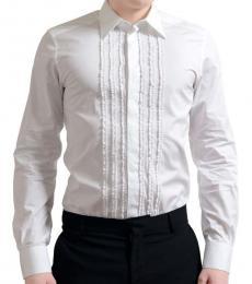 White Long Sleeve Dress Shirt