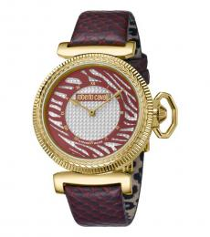 Roberto Cavalli Cherry Gleaming Watch