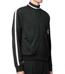 Black Logo Zip Jacket