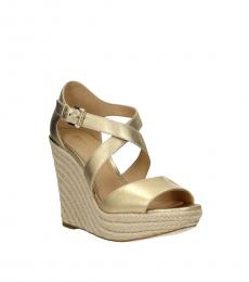 Gold Abbott Wedges