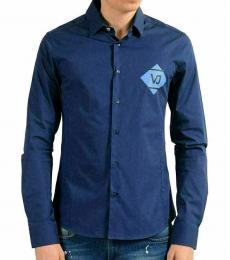 Blue Extra Slim Casual Shirt