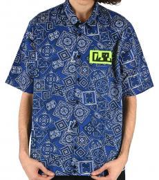 Diesel Dark Blue Printed Fry Shirt
