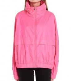 Kenzo Pink Logo Jacket