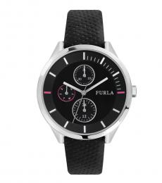 Furla Black Metropolis Multifunction Watch