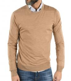 Dsquared2 Beige Crew-Neck Sweater
