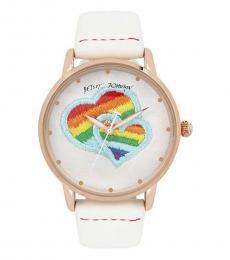 White Love Rainbow Watch