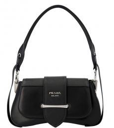 Prada Black Sidonie Medium Shoulder Bag