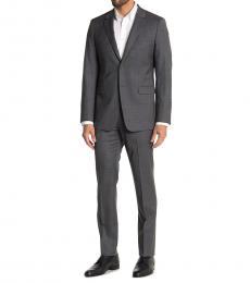Theory Dark Grey Nested Notch Lapel Suit