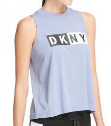 DKNY Tempest Logo Tank Top
