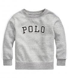 Ralph Lauren Little Boys Cruise Navy Fleece Sweatshirt
