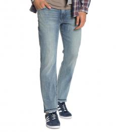 7 For All Mankind Blue Slimmy Slim Jeans