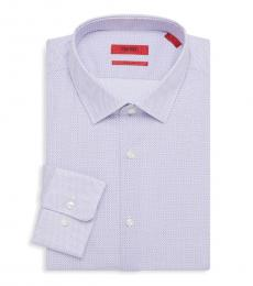 Hugo Boss Light Purple Mabel Sharp-Fit Dress Shirt