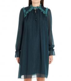Kenzo Blue Evening Dress