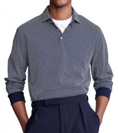Ralph Lauren French Navy Classic-Fit Foulard Polo