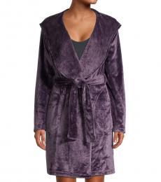 UGG Purple Miranda Fleece Robe