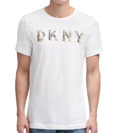 DKNY White City Logo T-Shirt