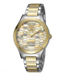 Roberto Cavalli Silver Sophisticated Watch