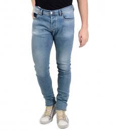 Blue Slim Denim Tepphar Jeans