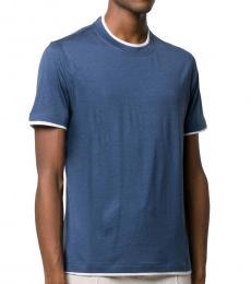 Navy Blue Regular-Fit T-Shirt