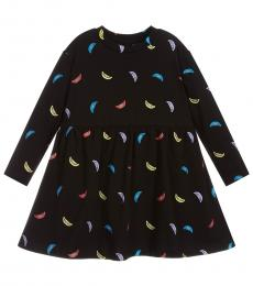 Stella McCartney Little Girls Black Jersey Dress