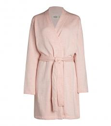UGG Light Pink Clarence Wrap Robe