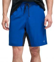 DKNY Olympn Blue Logo Active Shorts