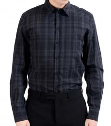 Dolce & Gabbana Classic Plaid Dress Shirt