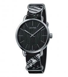 Calvin Klein Black & White Groovy Watch