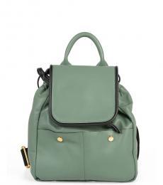 Marni Green Swing Small Backpack