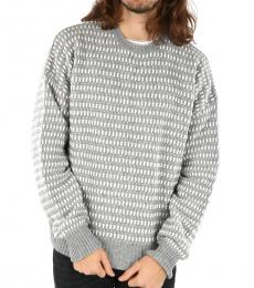 Grey Gold Wool Blend Kandy Pullover