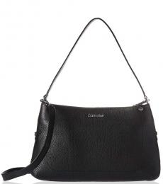 Black Jackson Large Shoulder Bag