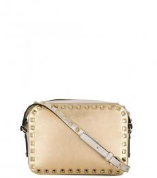 Valentino Garavani Golden Rockstud Small Crossbody