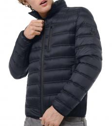 Midnight Hartford Quilted Packable Jacket