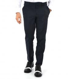 Dark Blue Slim Fit Pants
