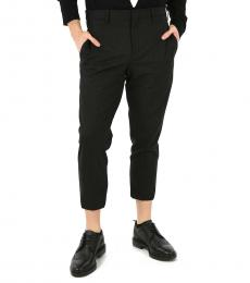 Black Ankle Band Pants